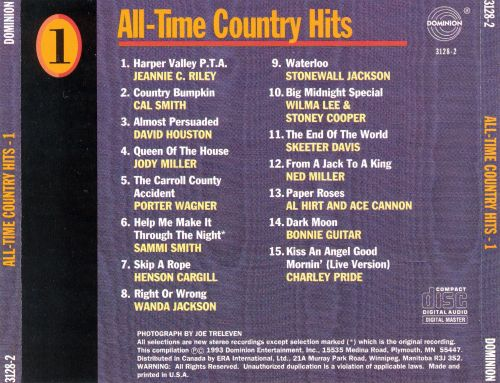 All-Time Country Hits [Box]