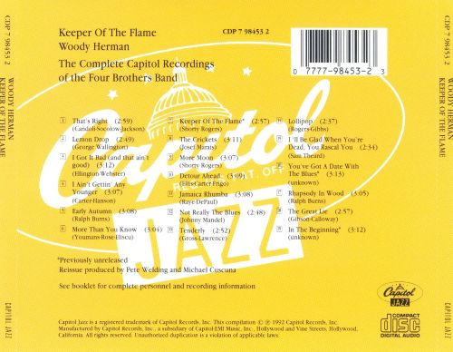 Keeper of the Flame: The Complete Capitol Recordings