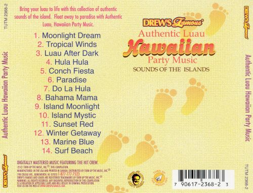Authentic Luau Hawaiian Party Music: Sounds of the Islands
