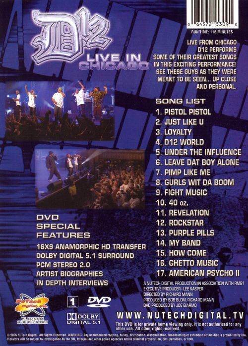 Live in Chicago [DVD]
