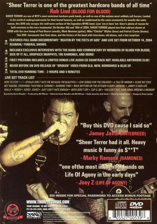 Beaten by the Fists of God: Complete Documentary Live at Cbgb's October 10, 2004 [DVD]