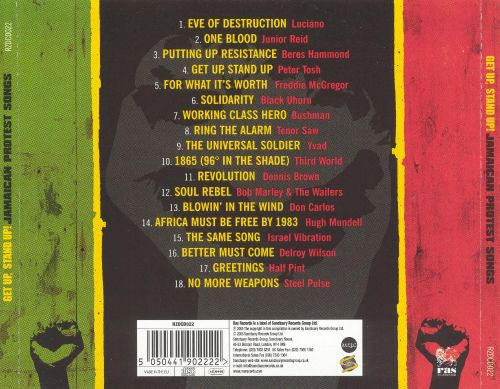 Get Up, Stand Up: Jamaican Protest Songs