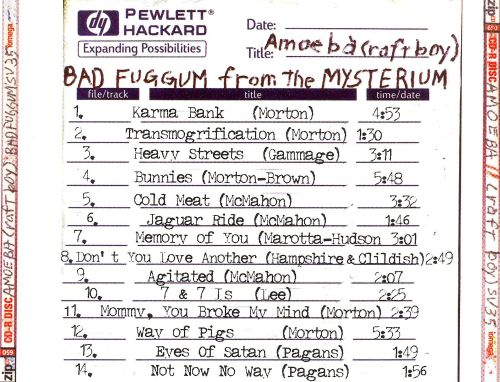 Bad Fuggum from the Mysterium