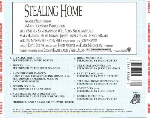 Stealing Home [Original Motion Picture Soundtrack]