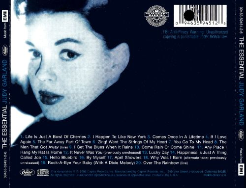 The Essential Judy Garland [Capitol]