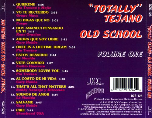 Totally Tejano, Vol. 1: Old School