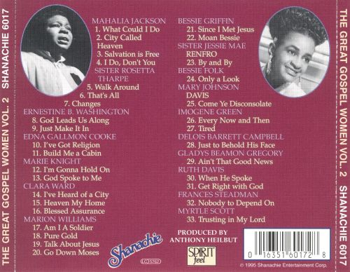 Great Gospel Women, Vol. 2