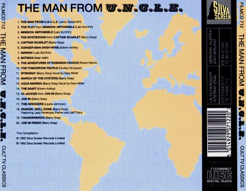 The Man from U.N.C.L.E.: Music from Cult TV Classics