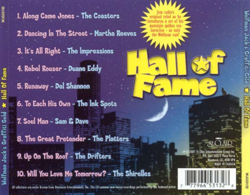 Wolfman Jack's: Hall of Fame