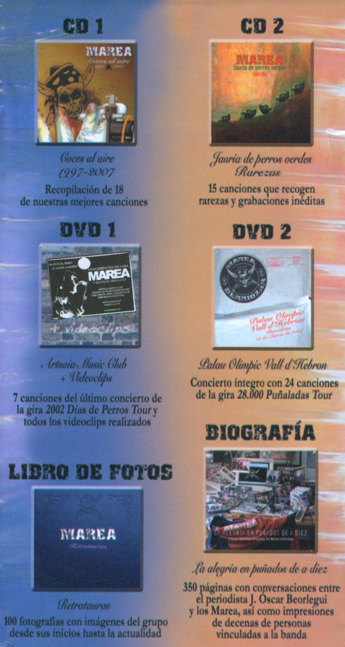 Coces Al Aire: 1997-2007 [Box Set]