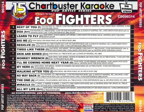 Chartbuster Karaoke: Foo Fighters
