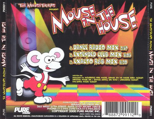 The Mousetraps Present Mouse In The House: Dance Remixes