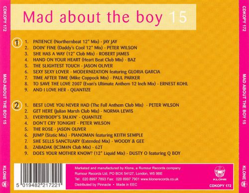 Mad About the Boy , Vol. 15