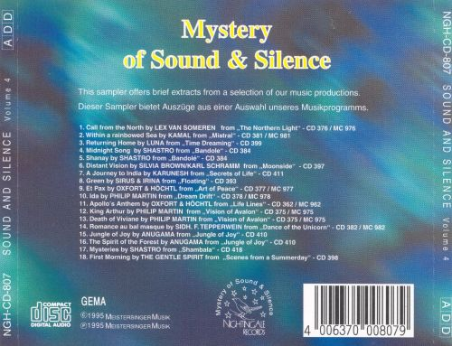 Mystery of Sound and Silence, Vol. 4
