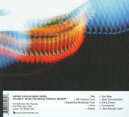 Library Catalog Music Series, Vol. 6: Music for Savage Tropical Imagery