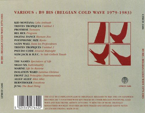 B9 Bis: Brussels Cold Wave 1979-1982