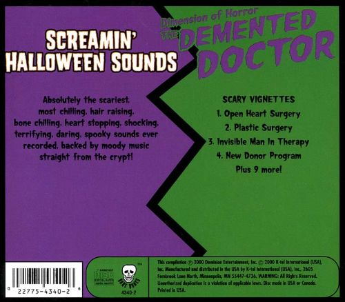 The Demented Doctor/Screamin' Halloween Sounds