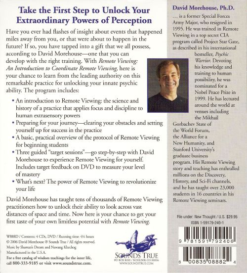 Remote Viewing: An Audio Introduction