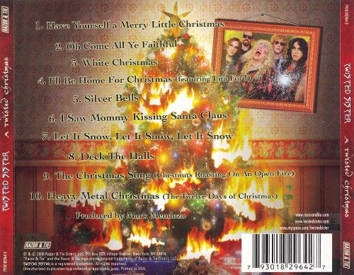 a twisted christmas twisted sister songs reviews credits allmusic - A Twisted Christmas