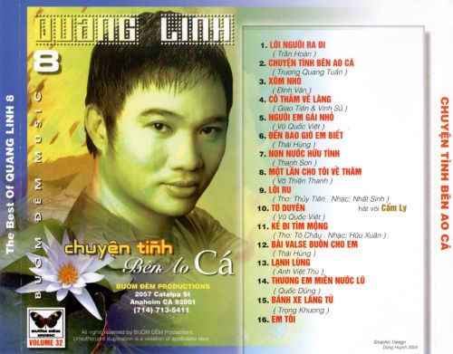 The Best of Quang Linh, Vol. 8