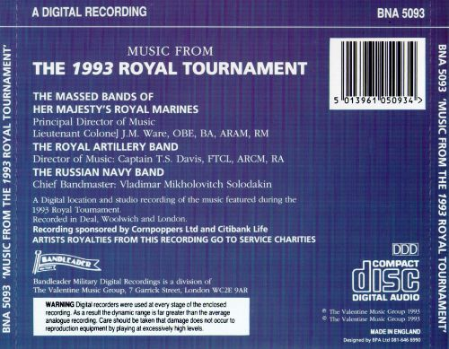 Music from the 1993 Royal Tournament
