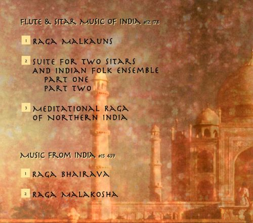 Flute and Sitar of India