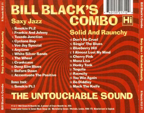 Saxy Jazz/Solid and Raunchy