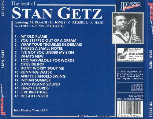 The Best of Stan Getz [Jazz Forever]