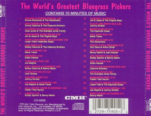 World's Greatest Bluegrass Pickers