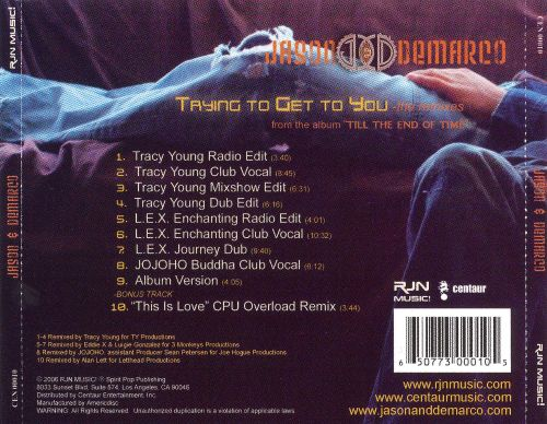 Trying to Get to You: The Remixes