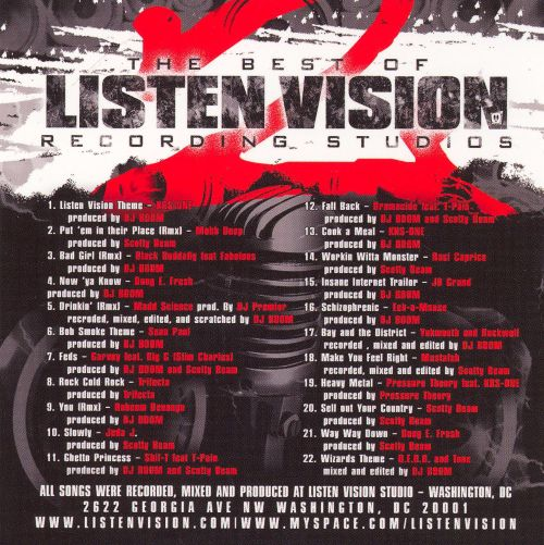 Best of Listen Vision Recording Studios