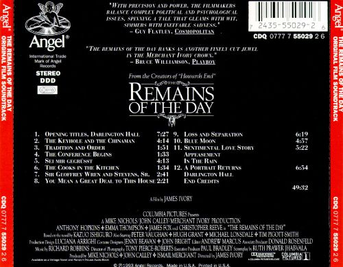 The Remains of the Day Movies & Media Adaptations