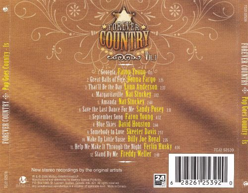 Forever Country, Vol. 3: Pop Goes Country - 1s