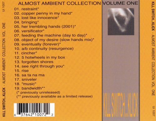 Almost Ambient Collection, Vol. 1