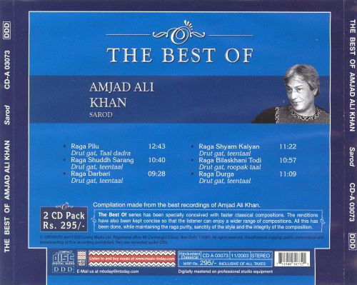 The Best of Amjad Ali Khan