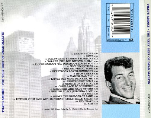 That's Amore: The Very Best of Dean Martin