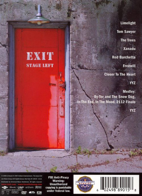 Exit...Stage Left [Video]