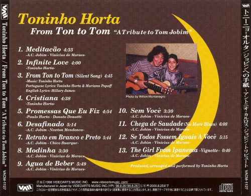 From Ton to Tom: A Tribute to Tom Jobim