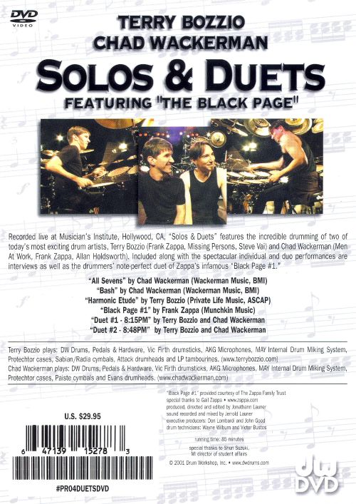 Solos & Duets [DVD]