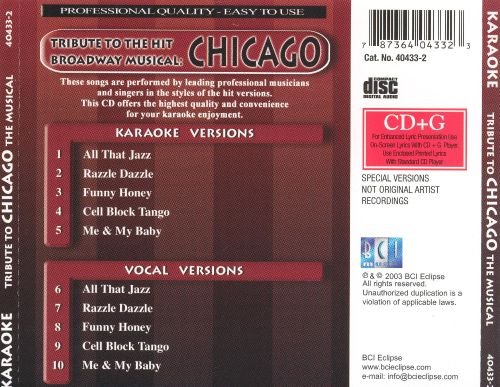 Tribute to the Musical Chicago