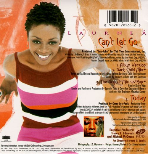Can't Let Go [CD]