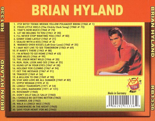 Brian Hyland [Collection]