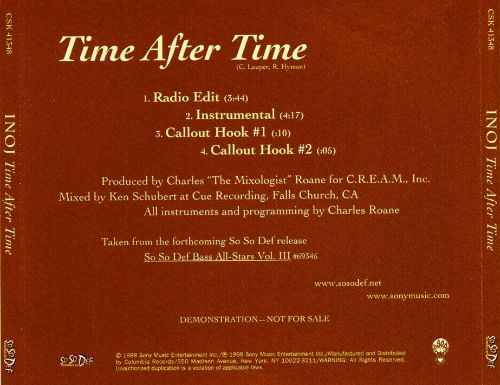 Time After Time [Vinyl Single]