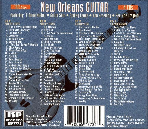 New Orleans Guitar