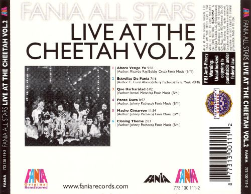 Live at the Cheetah, Vol. 2