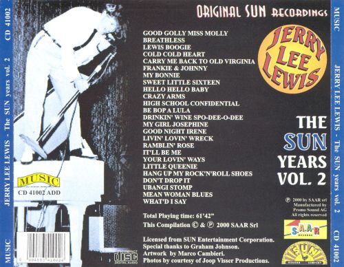 The Sun Years, Vol. 2