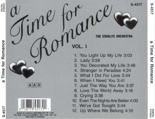 Time for Romance, Vol. 1