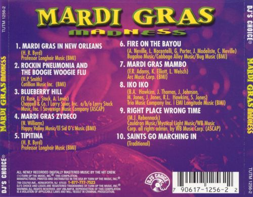 DJ's Choice: Mardi Grass Madness