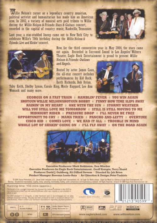 Willie Nelson and Friends/Outlaws and Angels