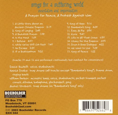 Songs for a Suffering World